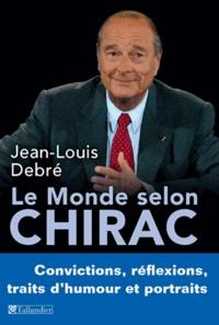 Livres en ligne téléchargement gratuit mp3 Le monde selon Chirac  - Convictions, réflexions, traits d'humour et portraits 9791021008663 par Jean-Louis Debré en francais FB2 PDB ePub