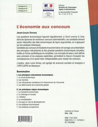 L'économie aux concours  Edition 2020