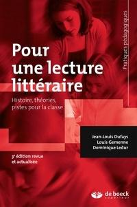 Jean-Louis Dufays et Louis Gemenne - Pour une lecture littéraire.