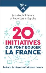 Histoiresdenlire.be 20 initiatives qui font bouger la France - Portraits de citoyens qui bâtissent l'avenir Image