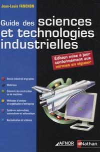 Joomla ebooks gratuits télécharger Guide des sciences et technologies industrielles 9782124941605 par Jean-Louis Fanchon