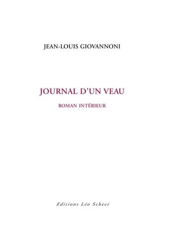 Journal d'un veau