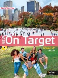 Jean-Louis Habert - Anglais 2e A2-B1 New On Target. 1 CD audio