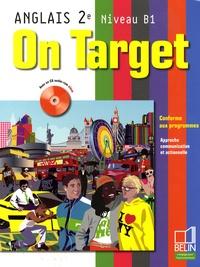 Jean-Louis Habert - Anglais 2e Niveau B1 On Target. 1 CD audio