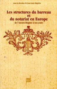 Histoiresdenlire.be Les structures du barreau et du notariat en Europe de l'Ancien régime à nos jours - Études Image