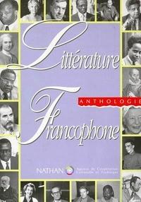 Jean-Louis Joubert - Littérature francophone - Anthologie.