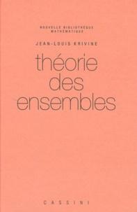 Jean-Louis Krivine - Théorie des ensembles.