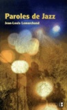 Jean-Louis Lemarchand - Paroles de jazz.