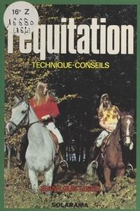 Jean-Louis Lesch et Christine Fleurent - L'équitation.