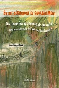 Jean-Louis Mahé - Entre déchirure et soulagement.