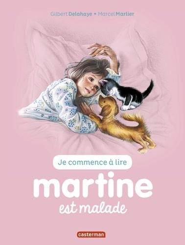 Jean-Louis Marlier et Gilbert Delahaye - Je commence à lire avec Martine Tome 16 : Martine est malade.