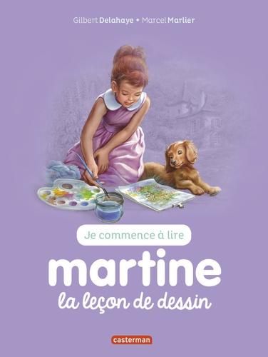 Jean-Louis Marlier - Je commence à lire avec Martine Tome 30 : Martine et la leçon de dessin.