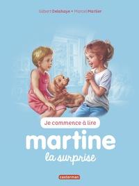 Jean-Louis Marlier et Gilbert Delahaye - Je commence à lire avec Martine Tome 37 : La surprise.
