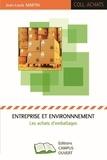 Jean-Louis Martin - Entreprise et environnement - Les achats d'emballages.