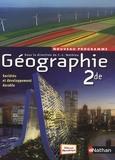 Jean-Louis Mathieu et Viviane Bories - Géographie 2de Programme 2010.