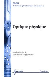 Optique physique - Jean-Louis Meyzonnette   Showmesound.org