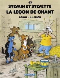 Jean-Louis Pesch et  Bélom - Sylvain et Sylvette - tome 63 - La Leçon de chant - La leçon de chant.