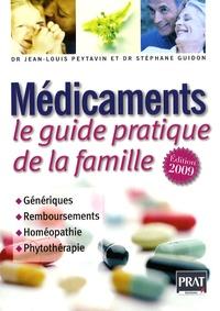 Jean-Louis Peytavin - Médicaments - Le guide pratique de la famille.