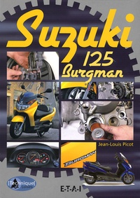 Jean-Louis Picot - Suzuki 125 Burgman.