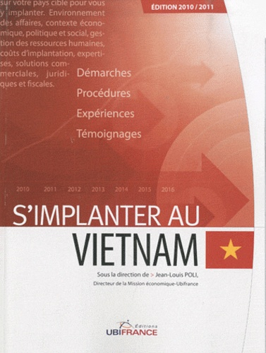 Jean-Louis Poli - S'implanter au Vietnam.
