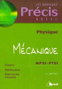 Mécanique MPSI-PTSI - Jean-Louis Queyrel |