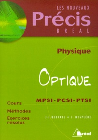 Deedr.fr Physique Tome 3 - Optique Image