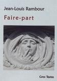 Jean-Louis Rambour - Faire-part.
