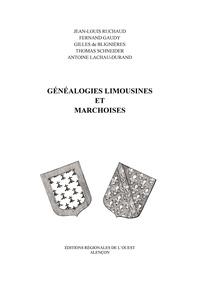 Jean-Louis Ruchaud et Fernand Gaudy - Généalogies limousines et marchoises - Tome XVIII.