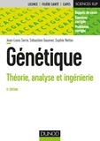 Jean-Louis Serre et Sébastien Gaumer - Génétique - 5e éd. - Théorie, analyse et ingénierie.