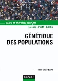 Jean-Louis Serre - Génétique des populations.