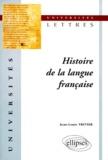 Jean-Louis Tritter - Histoire de la langue française.