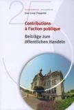 Jean-Loup Chappelet - Contributions à l'action publique.