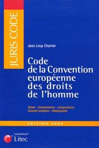 Code de la Convention européenne des droits de lhomme.pdf