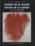 Jean-Loup Korzilius - Couleur de la morale, morale de la couleur - Actes du colloque de Montbéliard, 16 et 17 septembre 2005.