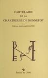 Jean-Loup Lemaître - Cartulaire de la chartreuse de Bonnefoy.