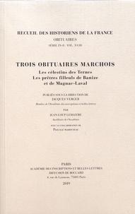 Deedr.fr Trois obituaires marchois - Les célestins des Ternes ; Les prêtres filleuls de Banize et de Magnac-Laval Image