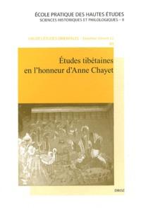 Jean-Luc Achard - Etudes tibétaines en l'honneur d'Anne Chayet.