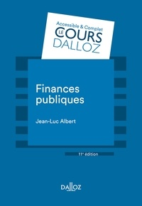 Jean-Luc Albert et Luc Saïdj - Finances publiques - 11e éd..