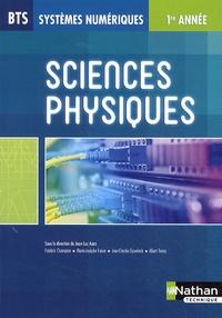 Jean-Luc Azan - Sciences physiques BTS systèmes numériques 1ère année.