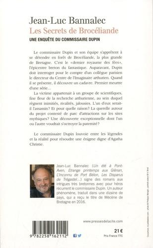 Les secrets de Brocéliande. Une enquête du Commissaire Dupin
