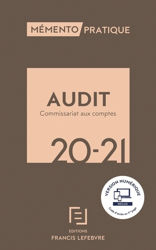 Audit - Commissariat aux comptes  Edition 2020-2021