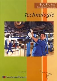 Jean-Luc Bascol - Technologie 1re et Tle Bac Pro MV.