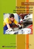 Jean-Luc Bascol - Technologie 2de Bac Pro Maintenance des véhicules Option voitures particulières.