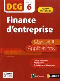 Jean-Luc Bazet - Finance d'entreprise DCG 6 - Manuel & applications.
