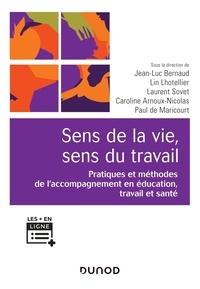 Jean-Luc Bernaud et Caroline Arnoux-Nicolas - Sens de la vie, sens du travail - Pratiques et méthodes de l'accompagnement en éducation travail et santé.