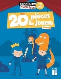 Jean-Luc Bétron et Cyrille Dehlinger - 20 pièces à jouer 7/13 ans - Tome 2.