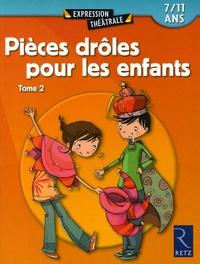 Jean-Luc Bétron et Michel Coulareau - Pièces drôles pour les enfants - Tome 2.