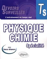 Jean-Luc Bousquet et Josiane Levy - Physique-Chimie Tle S spécialité.