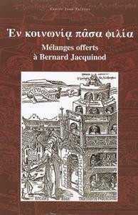 Jean-Luc Breuil - En koinonia pasa filia - Mélanges offerts à Bernard Jacquinot.