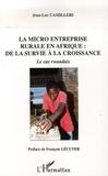 Jean-Luc Camilleri - La micro entreprise rurale en Afrique : de la survie à la croissance - Le cas rwandais.